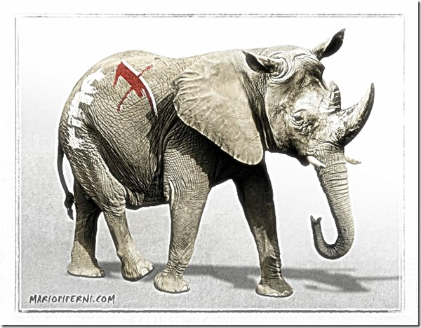 RINO Republican caricature