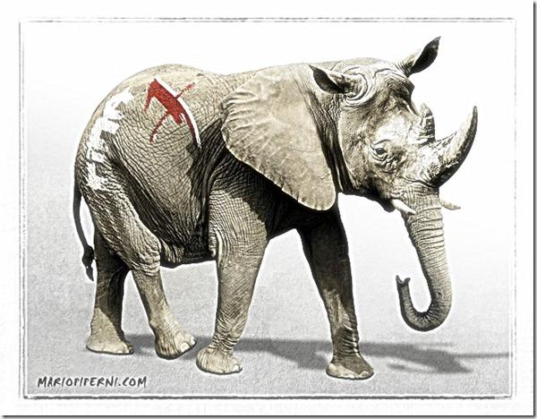 RINO Republican caricature