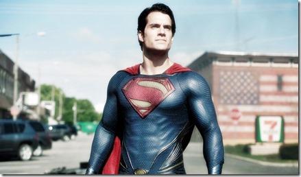Henry Cavill portrays Superman in 'Man of Steel.'