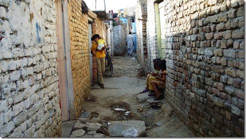 Islamabad Slum Street Existence
