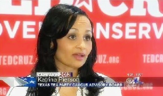 It&#39;s not just that <b>Katrina Pierson</b> is so great, but her opponent – incumbent <b>...</b> - katrina-pierson-campained-for-ted-cruz