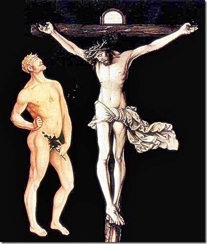 1st Adam - 2nd Adam in Jesus Christ. Hans Baldung Grien