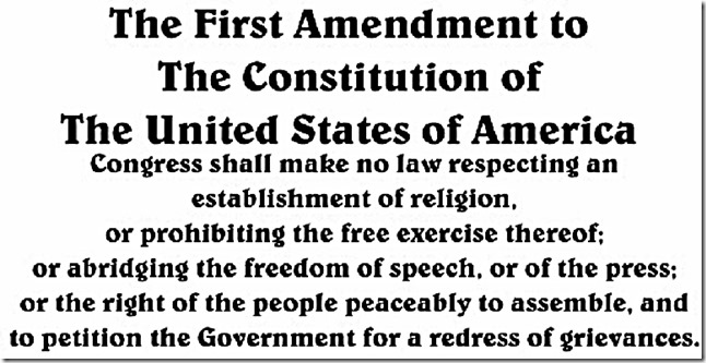 an analysis of the freedom and the constitution of the first amendment of the united states constitu It is the foundation of freedom the twelfth amendment to the constitution of the united states was the twenty-first amendment to the constitution was.