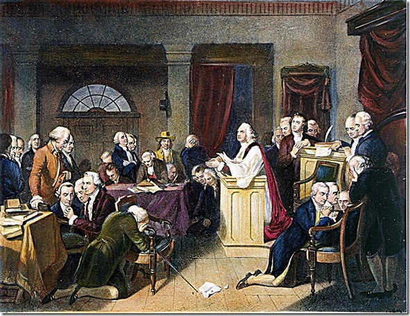 1st Continental Congress Prayer