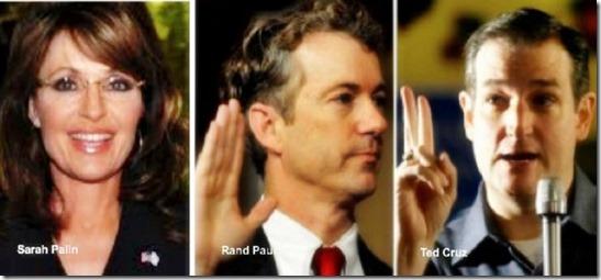 Palin, Rand & Cruz