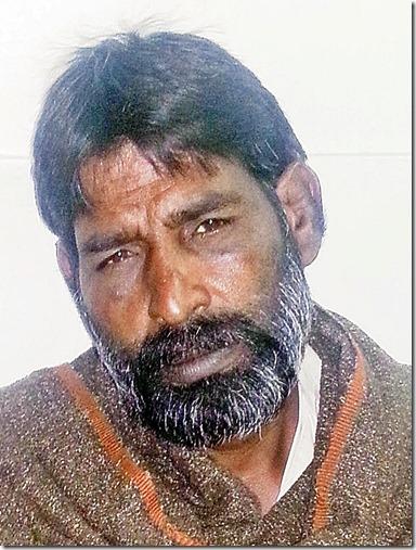 Peter John - Christian prison inmate Pakistan