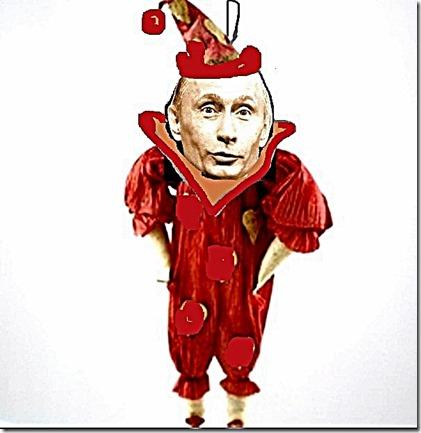 Putin Jester toon