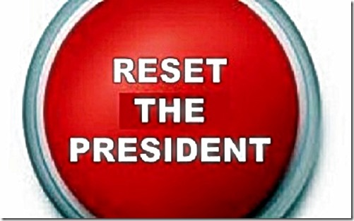 Reset The President red button