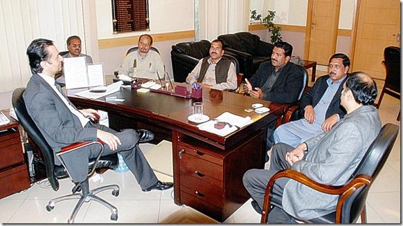 Shamim Masih at PCC Meeting