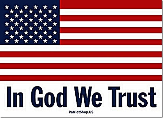 US Flag - In God We Trust