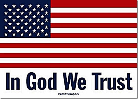 US Flag - In God We Trust
