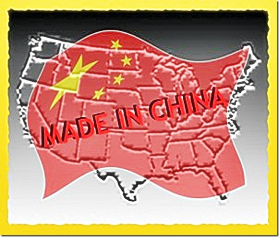 USA - Made in China NWO map