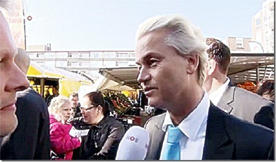 Geert Wilders Campaign Interview 3-12-14