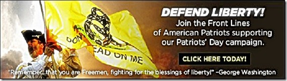 Patriot Post Banner- Support Patriot Day