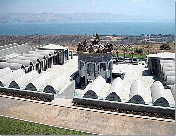 Sculpture Jesus teaches Apostles - Holy Land 2