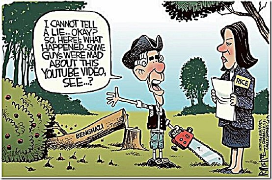 BHO Benghazi Lie & Susan Rice toon