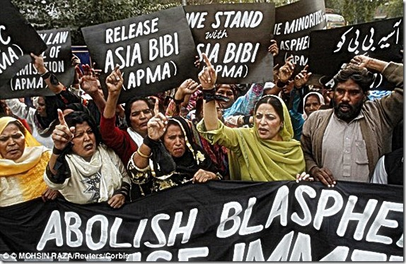 Pakistani Christians Protest Blasphemy Laws