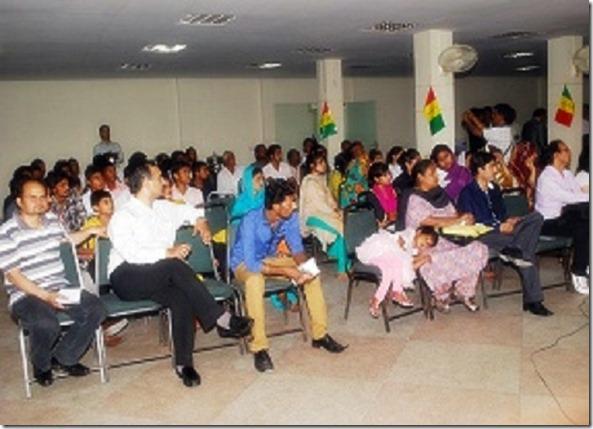 Shamim Masih bottom left - Pakistan Christian Congress PCC Punjab Youth Conference Lahore