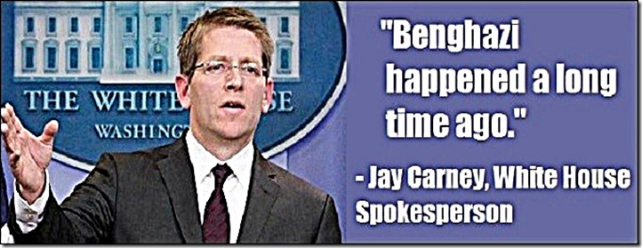 Jay Carney- Benghazi Happened Long ago