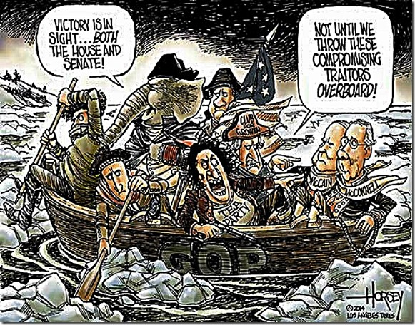 USS GOP - Tea Party vs GOP Establishment