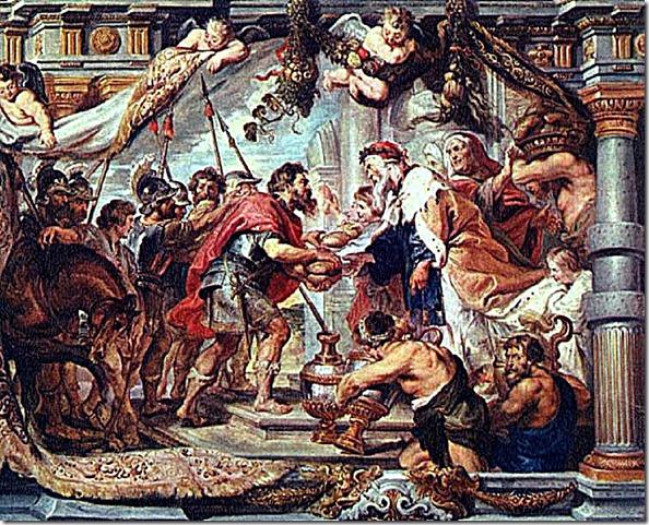 Abram & Melchizedek meeting