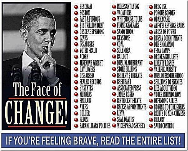Face of Obama - Impeach Him