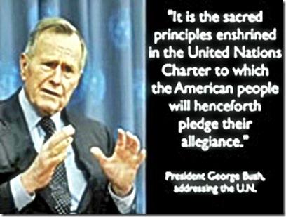 G.H.W. Bush on Agenda 21