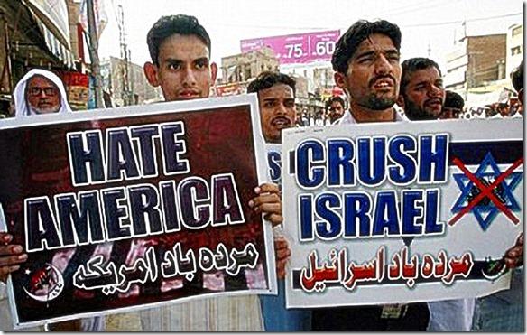 Muslim Hate blamed on USA-Israel