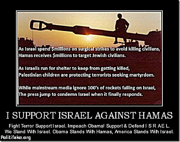 Support Israel Against Hamas