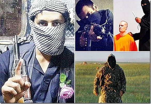 Abu Abduallah al-Britani. An ISIS terrorist involved in Foley murder