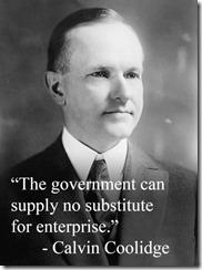 Calvin Coolidge & Quote