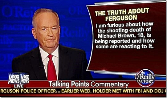 O'Reilly Talking Points Commetary 8-20-14