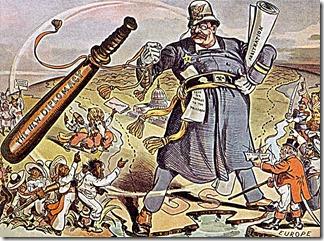 T Roosevelt Big Stick Diplomacy toon