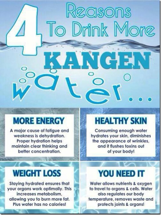 4 Reasons Drink Kangen