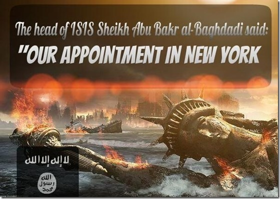 al-Baghdadi- Our Appt in NY