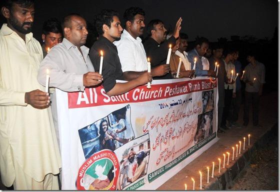 Remembering Islamic Terrorism in Pakistan Church