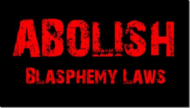 Abolish Blasphemy Laws
