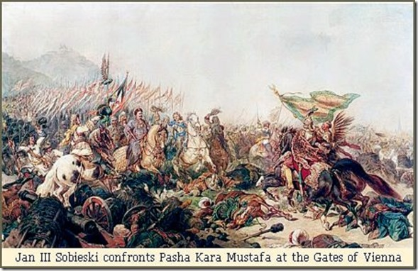 Jan Sobieski vs Pasha Kara Mustafa at Vienna