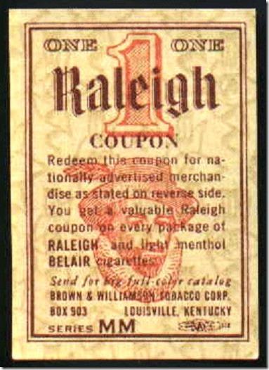 Raleigh Cig Coupon