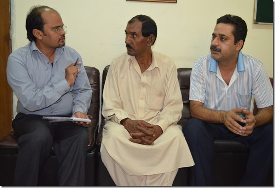 Shamim Masih, Ashiq Masih (Asia's husband) & Sohail Johnson