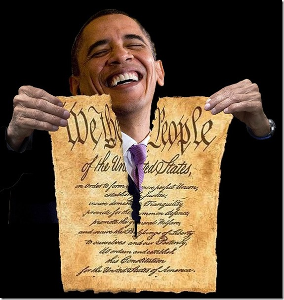 BHO Laughs ripping Constitution