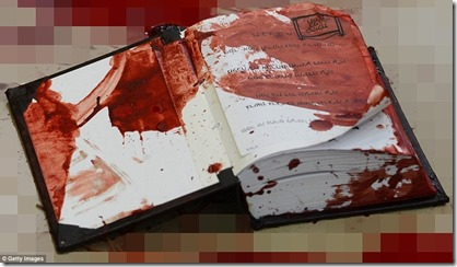 Blood Soaked Torah - Kehilat Yaakov Synagogue