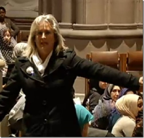 Christine Weick Defends National Cathedral