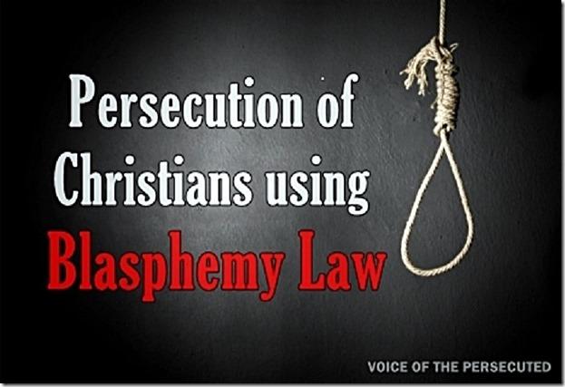 Blasphemy Law Persecutes Christians