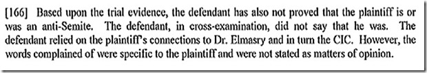 Decision Against Ezra Levant Paragraph-166