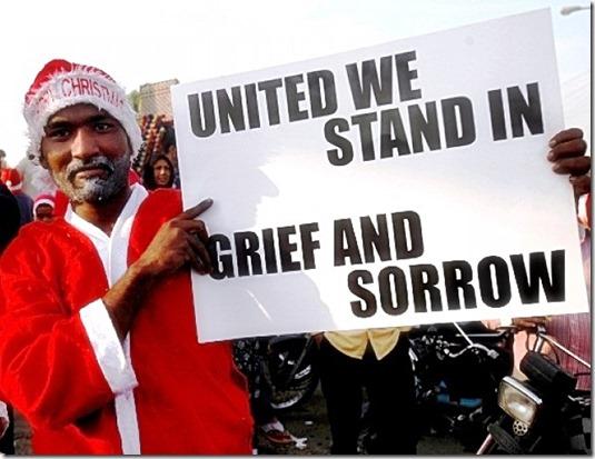 Karachi Santa Reuters photo 12-24-14
