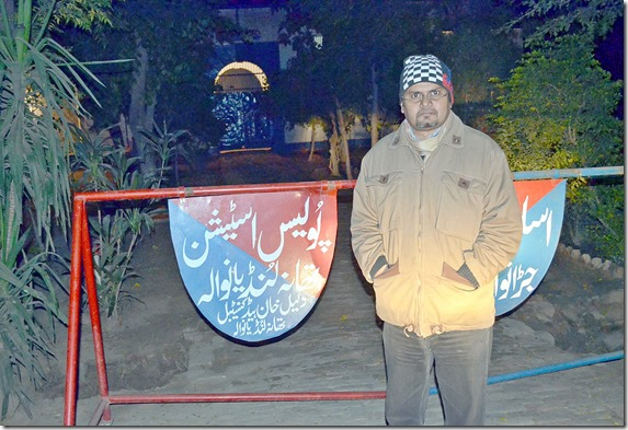 Shamim Masih on way to Lahore 12-2014