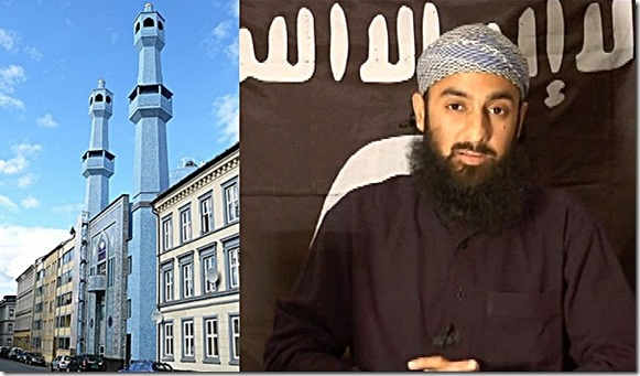 Left-World Islamic Mission-Oslo - Right-Ubaydullah Hussain-Norway Islamist