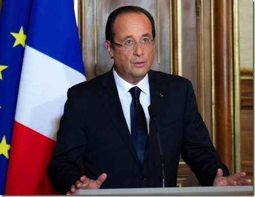 Prez Francois Hollande