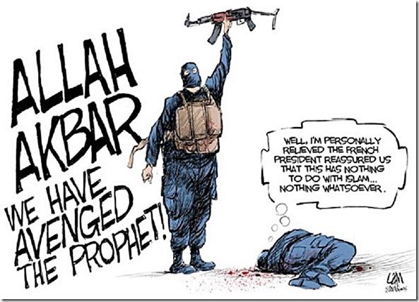 Religious Freedom Muslim Style toon